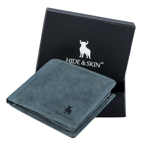 Hide & Skin Leather Wallet Personalized Anniversary Gifts