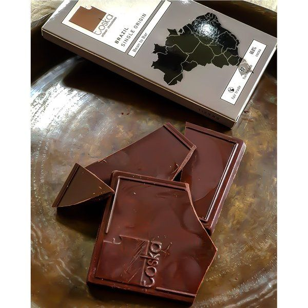 Toska Chocolates Brazil Single Origin Chocolate Personalized Anniversary Gifts