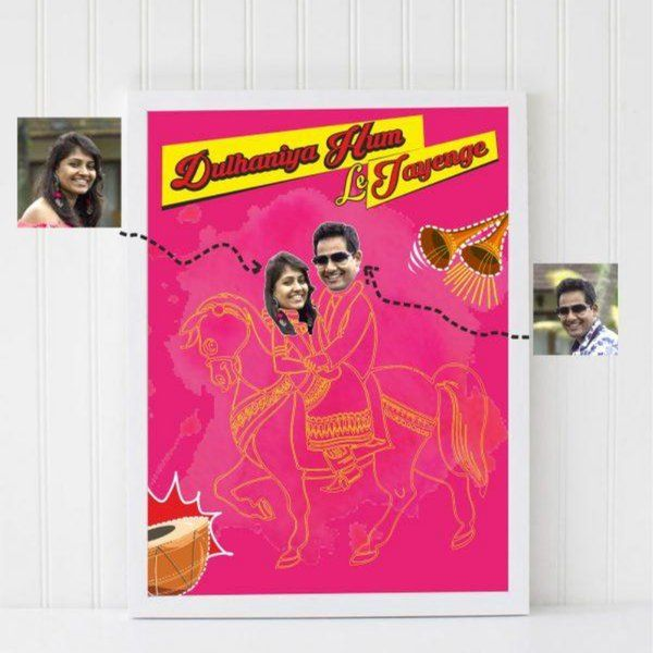 Zoci Voci Ultimate Wedding Pose Photo Frame Personalised Photo Frames Online