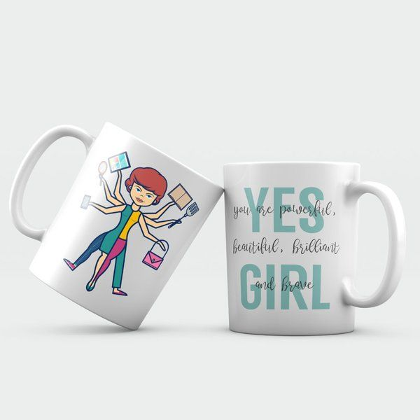Buy Privy Express'S Super Woman Mug from HalfCute online