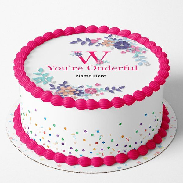 Buy CakeZone'S Women's Day Customisable Cake from HalfCute online