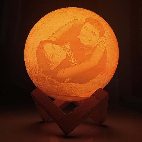 Zoci Voci Customized Moon Lamp Anniversary Gifts For Couple
