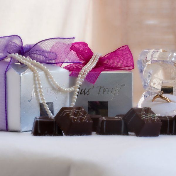Jus'Trufs Chocolatiers Jus' Trufs Classic Six Box Pack Birthday Gifts For Sister
