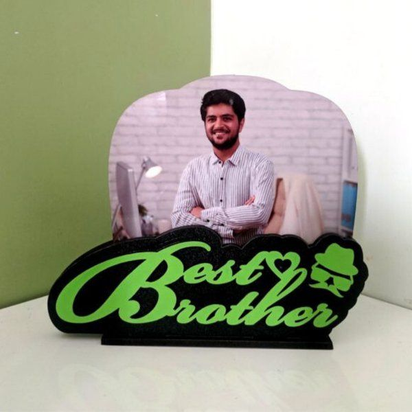 Surprise Birthday Ideas for Brother - Best Brother Photo Frame