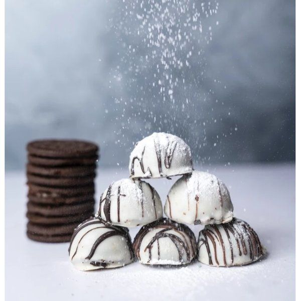 Ocdee White Chocolate Oreo Truffles Personalized Anniversary Gifts