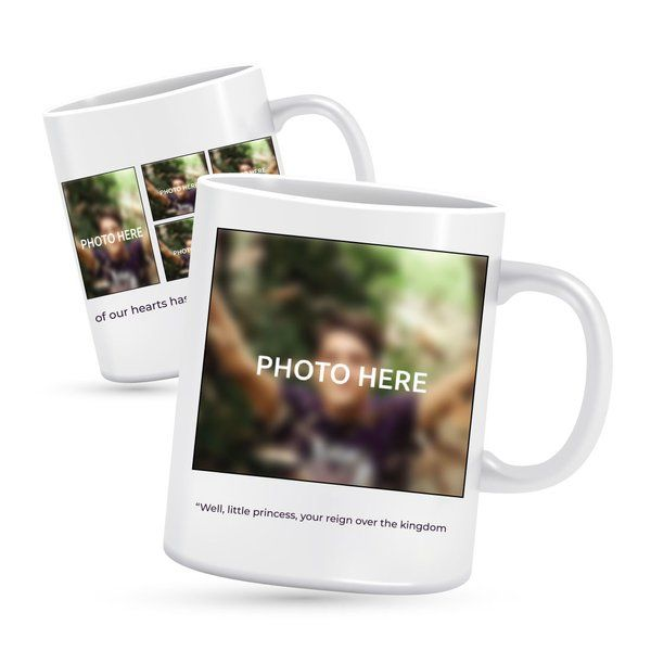 Privy Express Personalised Collage Photo Mug Personalized Anniversary Gifts