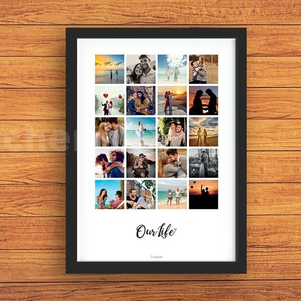 CherishX Our Life Collage Photo Frame Personalised Photo Frames Online