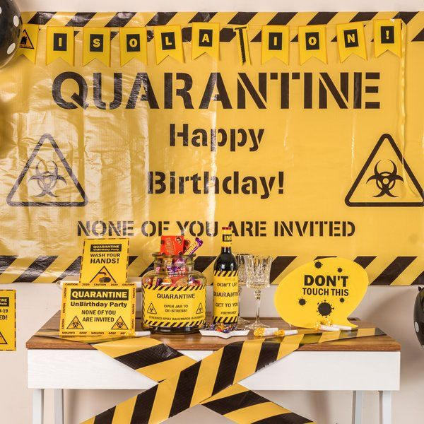 Dottedi Quarantine Themed Decor Package Birthday Gifts For Male Friend