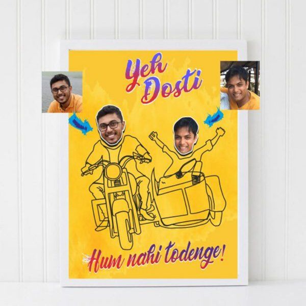 Zoci Voci Ye Dosti Personalized Frame Corporate Gift Ideas