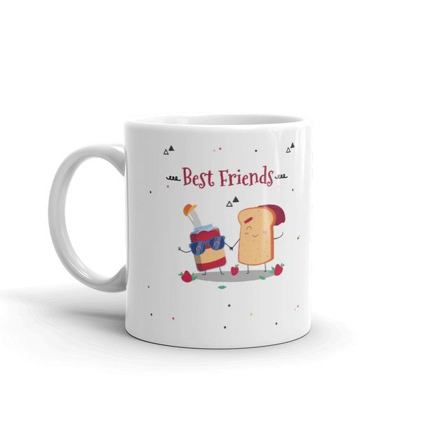 Privy Express You are the Jam to My Bread BFF Coffee Mug Personalized Anniversary Gifts