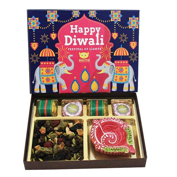 All in One Diwali Dry Fruits Gift Box