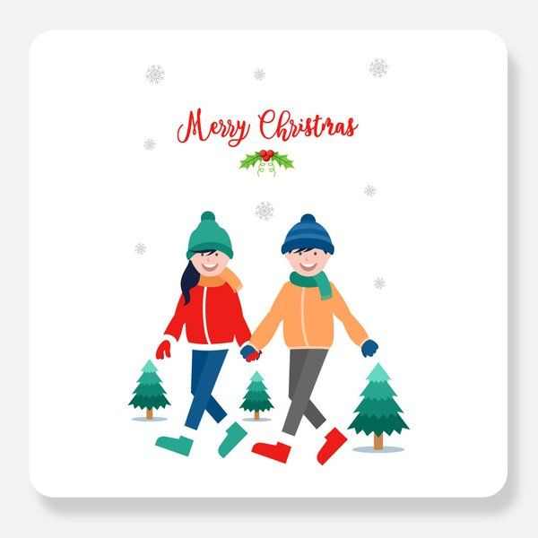 Privy Express Being With You Christmas Greeting Card Christmas Greeting Cards