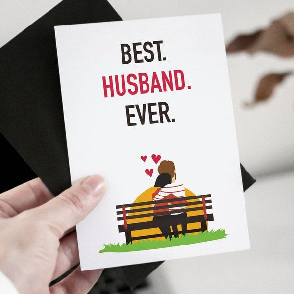 Privy Express Best Husband Ever Greeting Card Surprise Anniversary Gifts For Husband