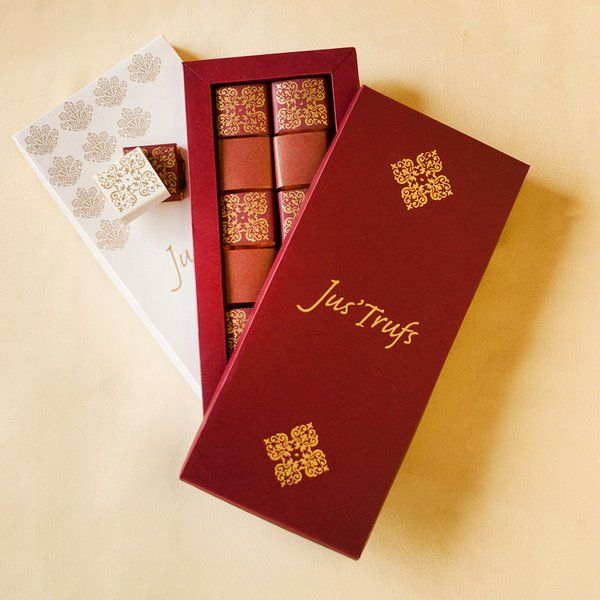Jus'Trufs Chocolatiers Classic Chocolate Truffles in a Dream Box Surprise Gifts For Husband