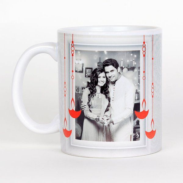 FlowerAura Customised Classy Mugs Personalized Gifts For Sister