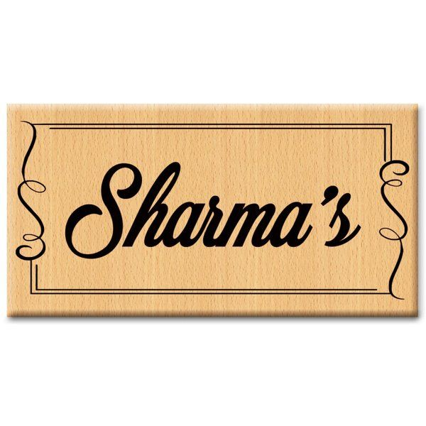 Customized Door Sign Name Plates