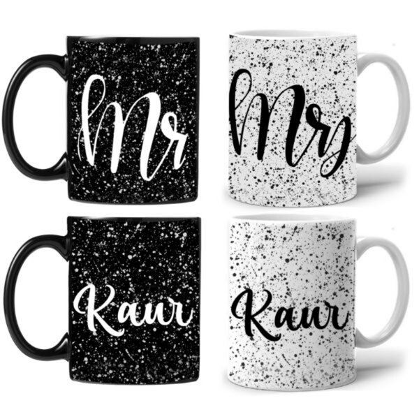 Zoci Voci Day & Night Couple Mug Cute Gifts For Boyfriend