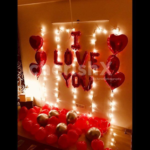 CherishX DIY Love Wall Decoration Kit Valentines Day Décor