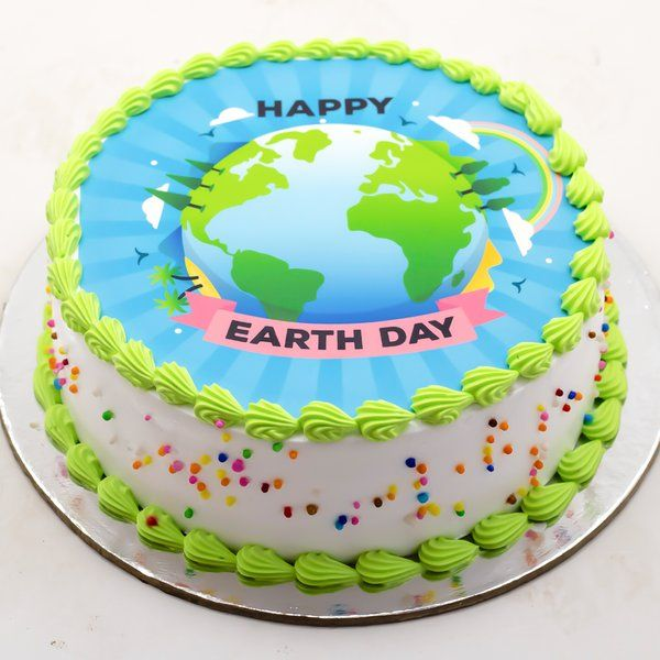 Amazing Personalized Photo Cakes Earth Day Special