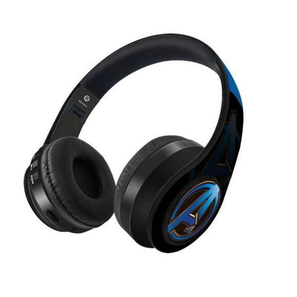 Macmerise Endgame Logo Blue - Decibel Wireless On Ear Headphone Valentines Day Gifts For Husband