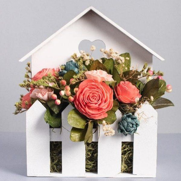 TheMaevaStore Flower house Gifts For Couples