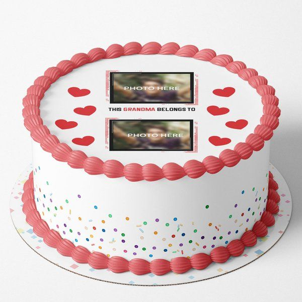 Best Personalized Photo Cakes for Grandma's Birthday