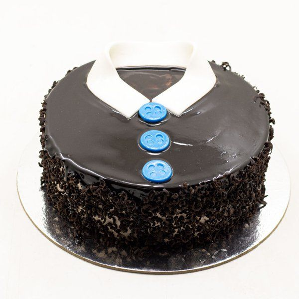 CakeZone Happy Men's Day Choco Truffle Cake  fathers Day Gifts