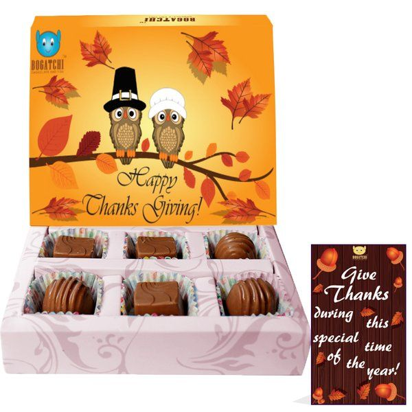 Happy Thanks Giving Chocolate Gift Box