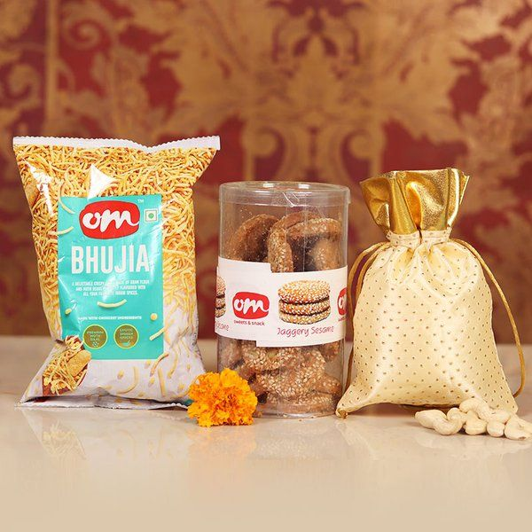 FlowerAura Healthy Bhujia Combo Corporate Gift Ideas