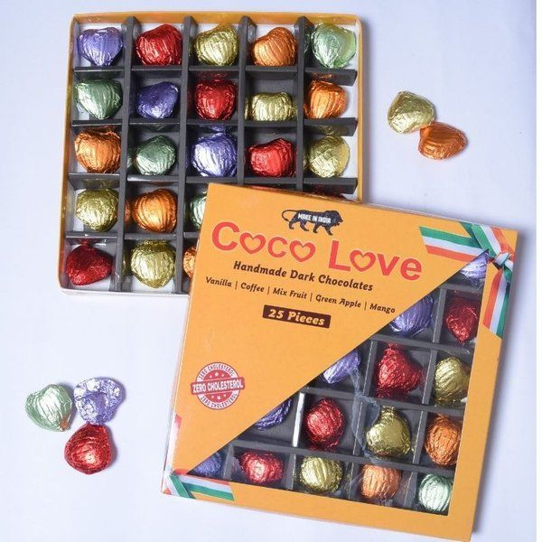 Coco Love Heart Shaped Chocolates Box Congratulation Gifts