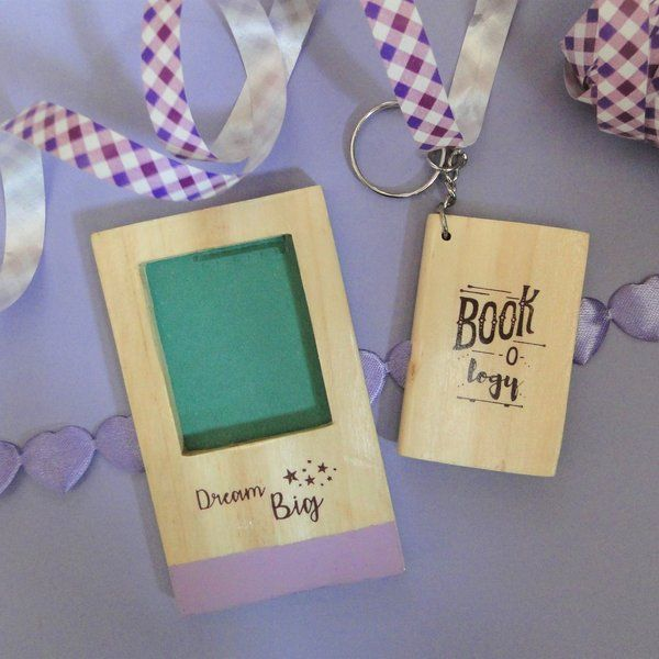 Ivei IVEI Diary Key Ring And Photo Magnet Set Anniversary Gifts For Boyfriend