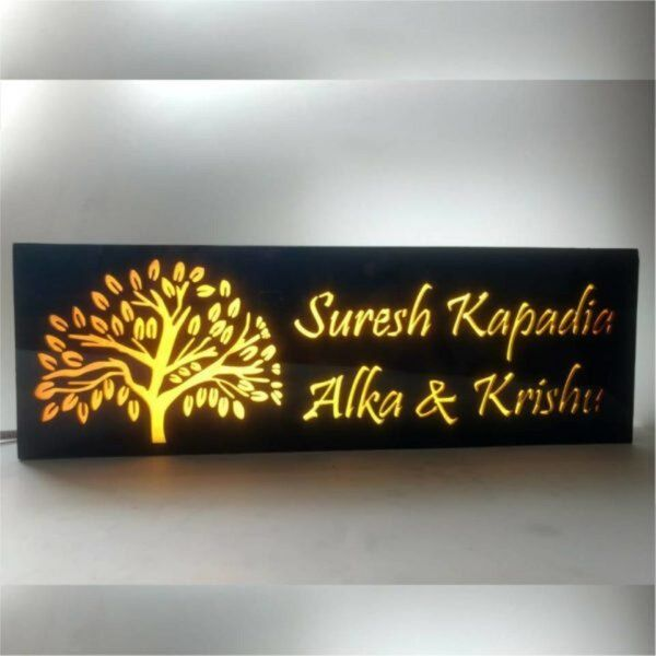 Zoci Voci LED Name Plate Personalized Gifts For Family