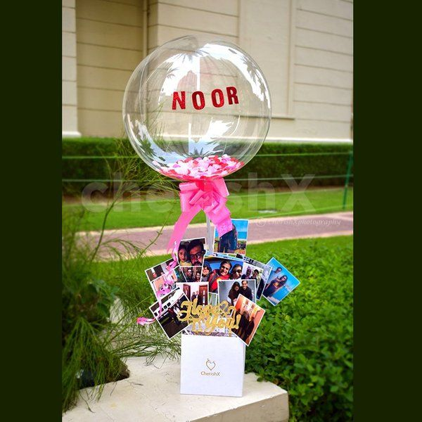 Personalized Gifts for Wife Birthday Love Bubble Surprise