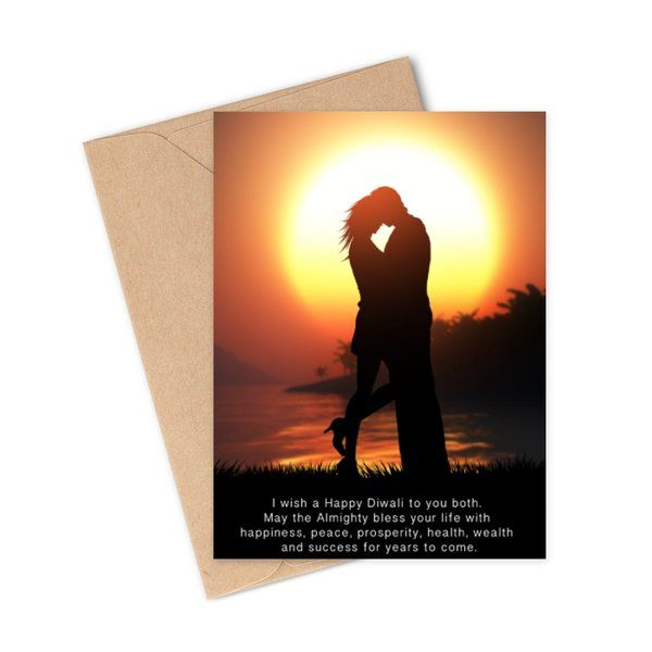 Privy Express Lovely Diwali Greeting Card For Couples Romantic Gifts For Husband