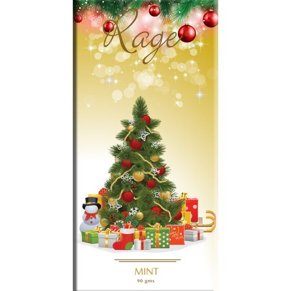 Merry Christmas Tree Mint Blend Chocolate Secret Santa Gifts For Men