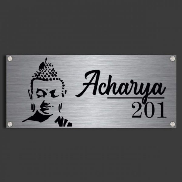 Nirvana Metal Name Plates for Home