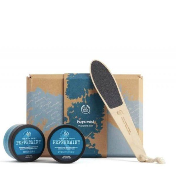 The Body Shop Peppermint Pedicure Set Useful Gifts For Girlfriend