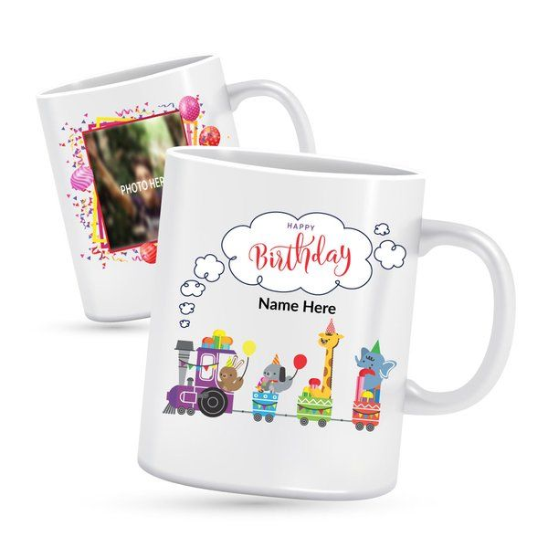 Privy Express Personalised Birthday mugs for kids Gifts For Toddlers