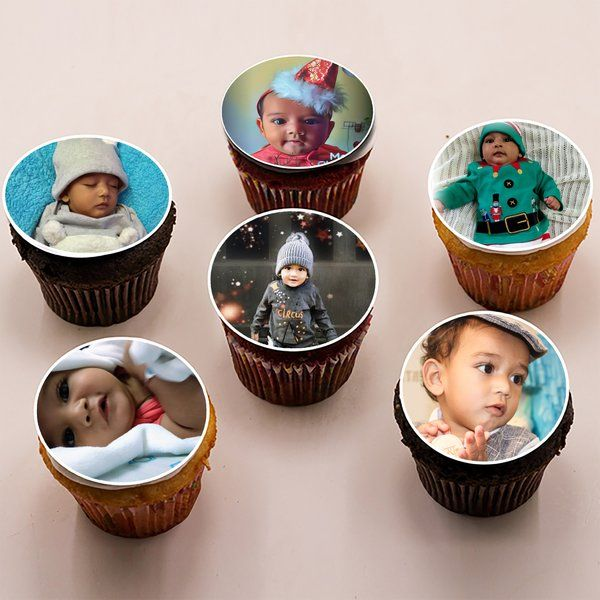 CakeZone Personalised Photo Cupcakes Gifts For Kids