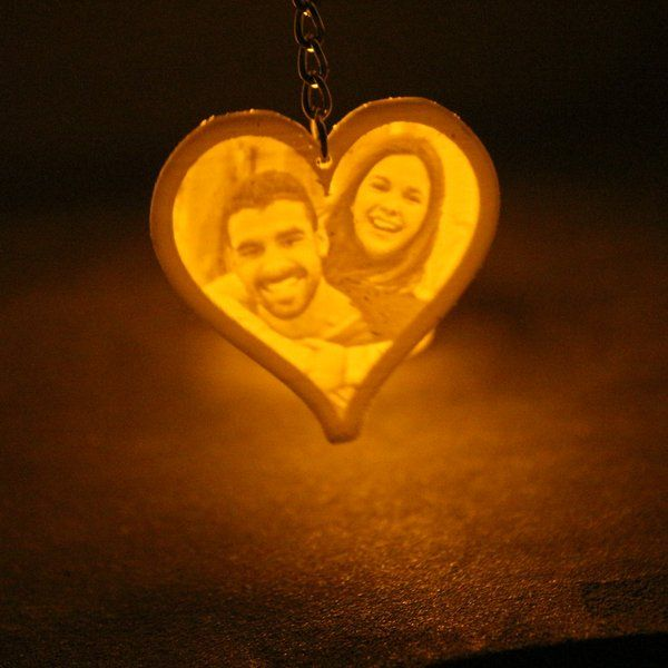 Soch3D Personalized 3D Photo Keychain Personalized Photo Keychains