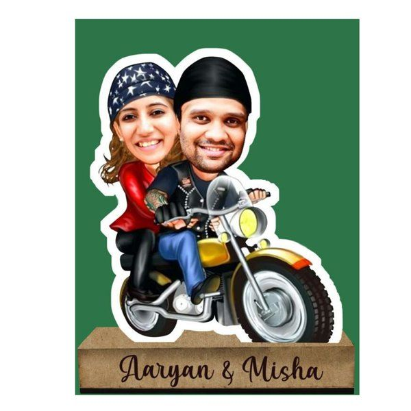 Zoci Voci Personalized Caricature Standee Personalised Photo Frames Online
