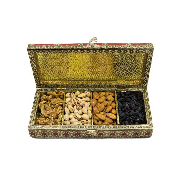 Apricot Premium Dry Fruits Suitcase Gift Box Corporate Gift Ideas