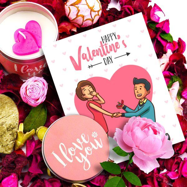 Propose Day Card Simple First Valentine Gifts for Boyfriend