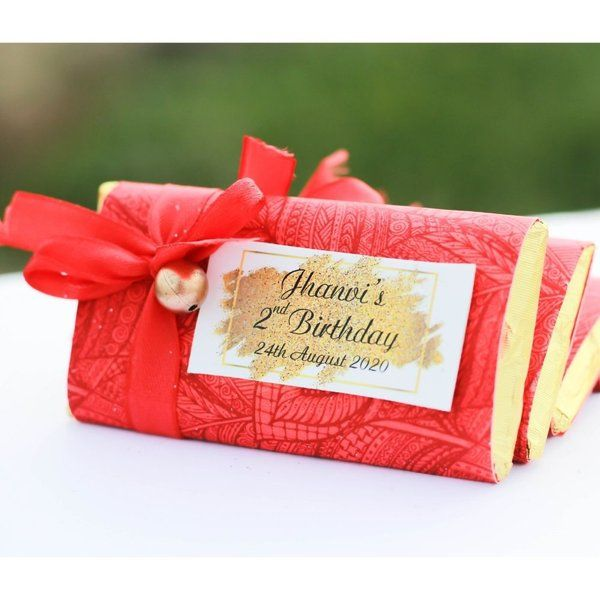 Privy Express Red Sheet With Ribbon Chocolate Bar Valentines Day Gifts For Husband