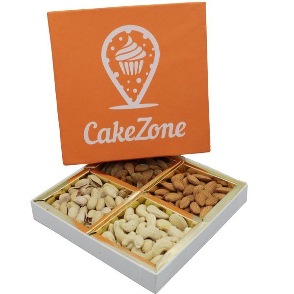 CakeZone Special Dry Fruits Gift Box  50th Anniversary Gift