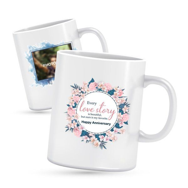 Privy Express Special Love Anniversary Photo Mug Personalized Gifts For Her