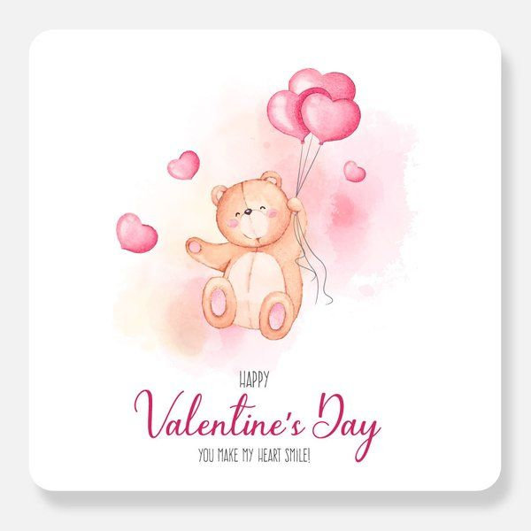 Privy Express Special Teddy Day Valentine's Valentines Day Greetings