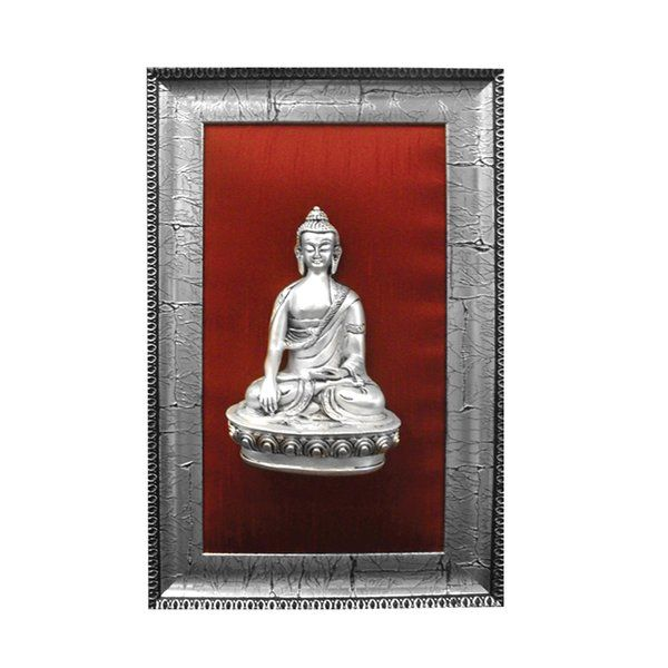 Estudiointernational Sterling Silver Buddha Frame Wedding Anniversary Gifts For Wife