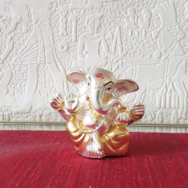 Estudiointernational Sterling Silver Ganesha Small 70th Birthday Gift For Dad