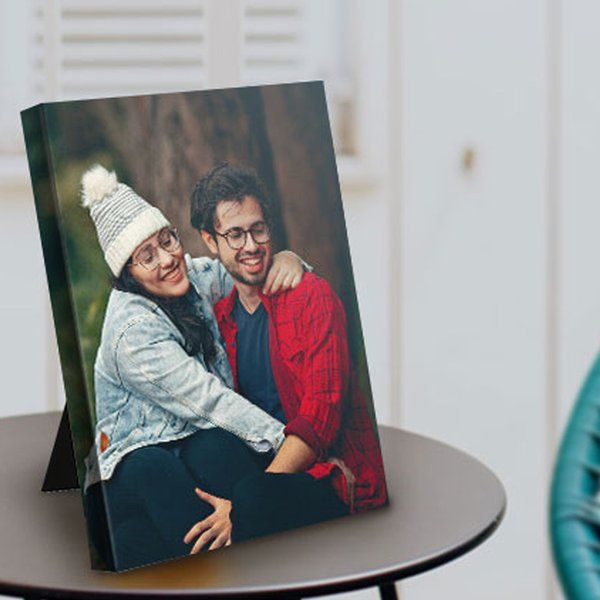 Photojaanic Table Photo Frame Personalized Anniversary Gifts